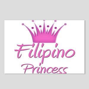 Filipino Princess Postcards (Package of 8)
