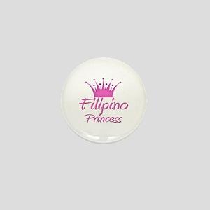 Filipino Princess Mini Button