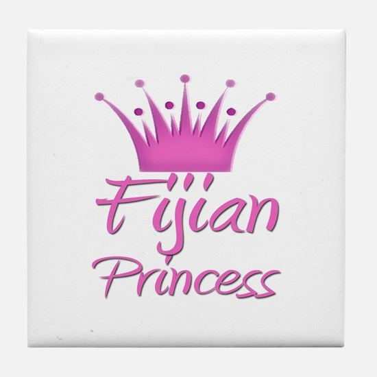 Fijian Princess Tile Coaster