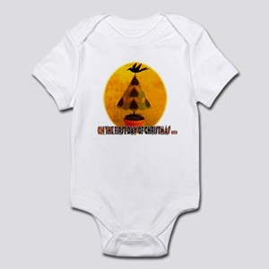 On the first day of Christmas Infant Bodysuit