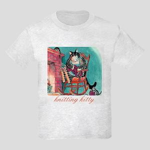 """Knitting Baby"" Kids Light T-Shirt"