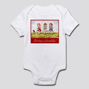 """Knitting Baby"" Infant Bodysuit"