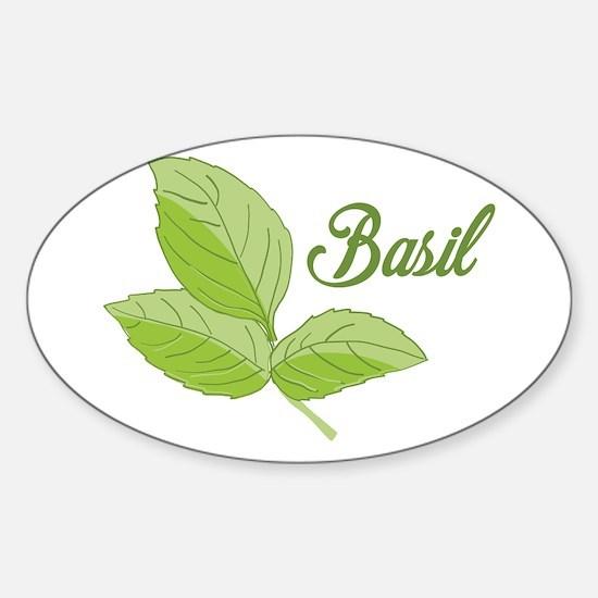 Basil Decal