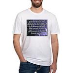 Daniel 12:3 Fitted T-Shirt