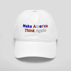 Make America Think Rwb Baseball Cap