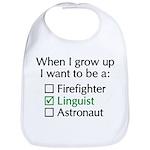 When I Grow Up (Linguist) Bib