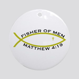 Fisher (YLW) - Ornament (Round)