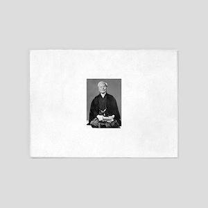 Gichin Funakoshi 5'x7'Area Rug
