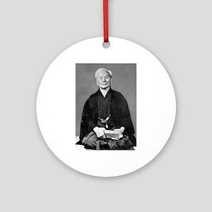Gichin Funakoshi Round Ornament