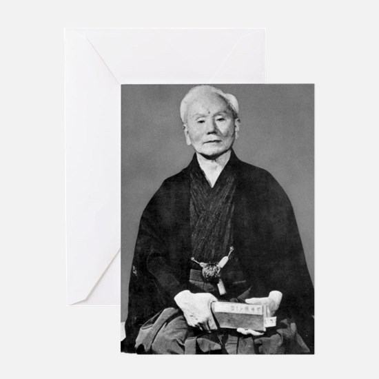 Gichin Funakoshi Greeting Cards