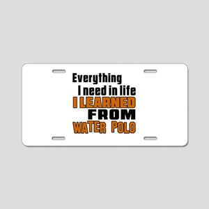 Everything I Learned From W Aluminum License Plate