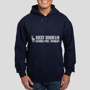 Deer: Rocky Mountain, Colorado Hoodie (dark)