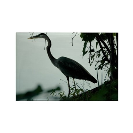 Heron Rectangle Magnet (100 pack)