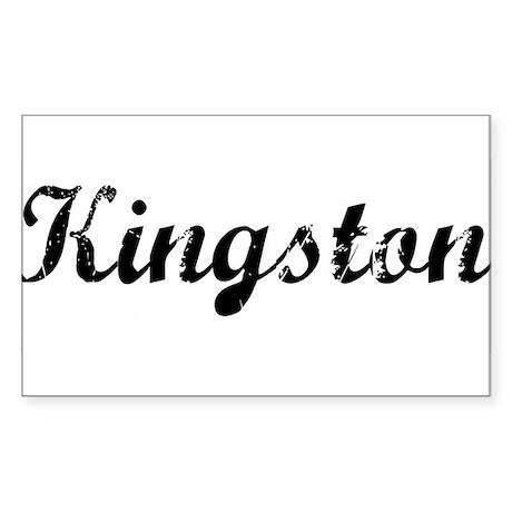 Kingston Rectangle Sticker