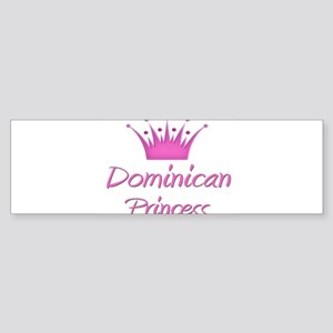 Dominican Princess Bumper Sticker