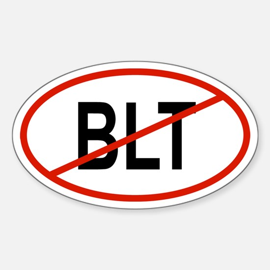 BLT Oval Decal