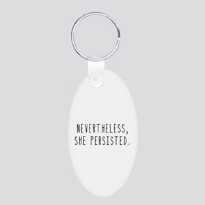 Nevertheless She Persisted Keychains