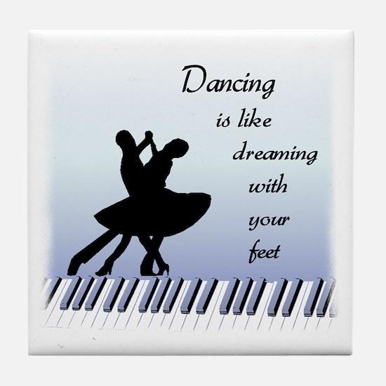 Dancing Tile Coaster