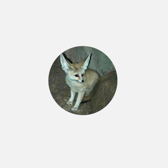 Fennec Fox Mini Button