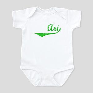 Ari Vintage (Green) Infant Bodysuit