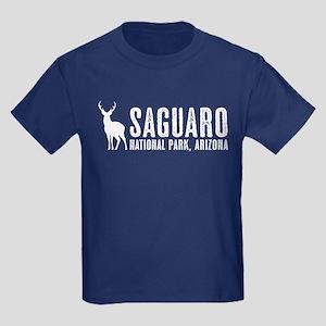 Deer: Saguaro, Arizona Kids Dark T-Shirt