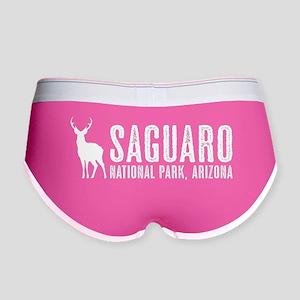 Deer: Saguaro, Arizona Women's Boy Brief