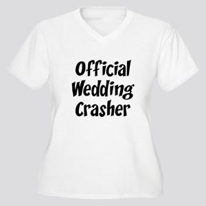 Wedding Crasher Women's Plus Size V-Neck T-Shirt