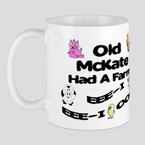 Old McKate Had a Farm Mug