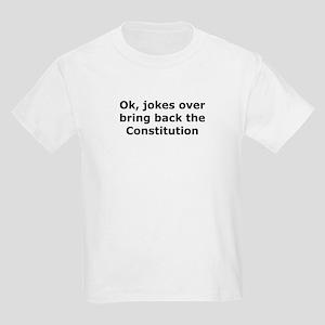 Bring back the constitution Kids Light T-Shirt