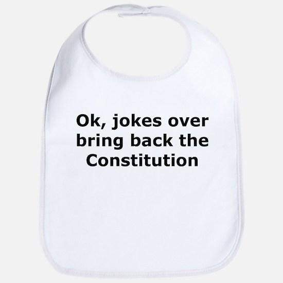 Bring back the constitution Bib