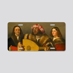 A Concert by Cariani Aluminum License Plate