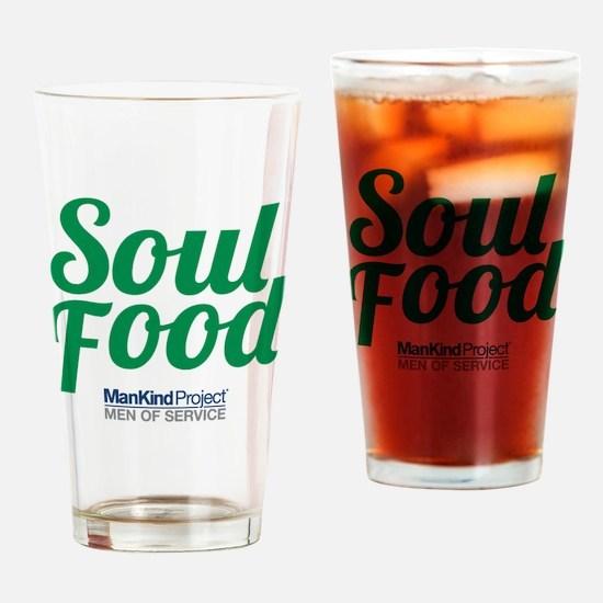 Soul Food Drinking Glass