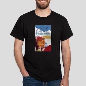 Snow Bunny Ski Club Dark T-Shirt