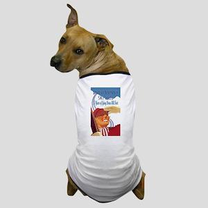 Snow Bunny Ski Club Dog T-Shirt