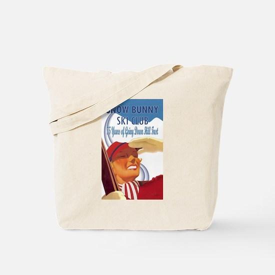 Snow Bunny Ski Club Tote Bag