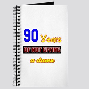 90 Years of not giving a damn Journal