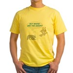 Where Are The Sheep? Yellow T-Shirt