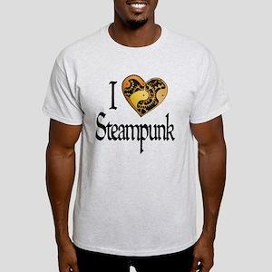 Heart Steampunk Light T-Shirt