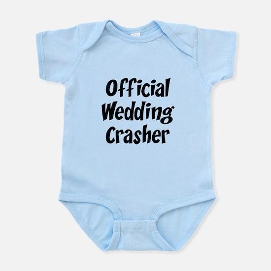 Wedding Crasher Infant Bodysuit