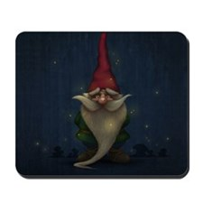 Old Christmas Gnome Mousepad