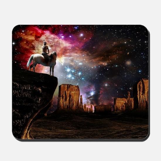 Native American Universe Mousepad