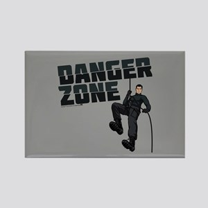 Archer Danger Zone Rectangle Magnet