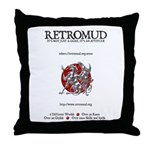 RetroMUD Throw Pillow