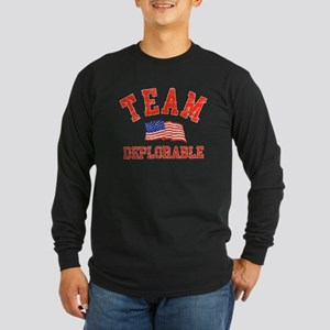 Team Deplorable Long Sleeve T-Shirt