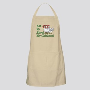 Ask About My Chickens Apron