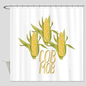 Cob Mob Shower Curtain