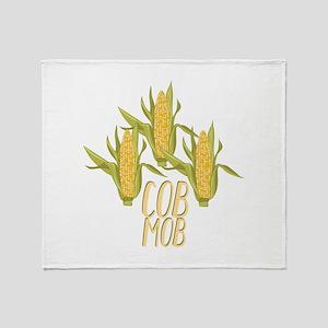 Cob Mob Throw Blanket