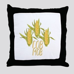 Cob Mob Throw Pillow