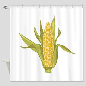 Corn Ear Shower Curtain