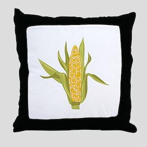 Corn Ear Throw Pillow